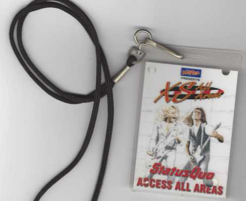 ACCESS ALL AREAS LAMINATE