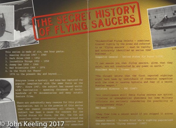 Flying Saucer brochure