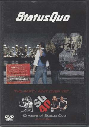 The Party Ain't Over Yet DVD B