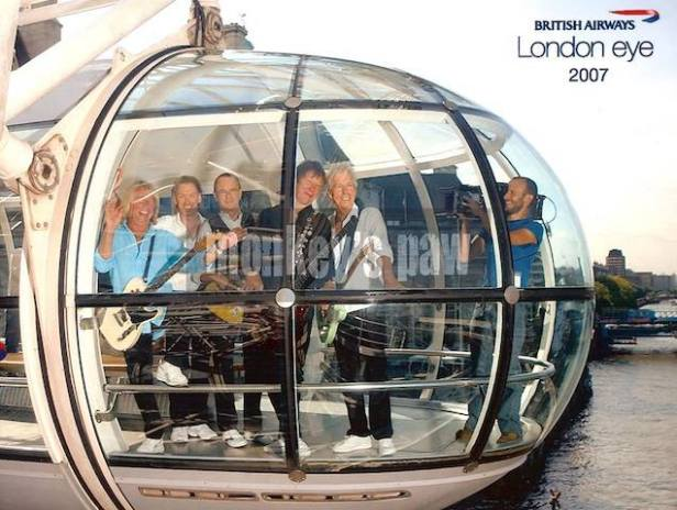 STATUS QUO LONDON EYE PHOTOT