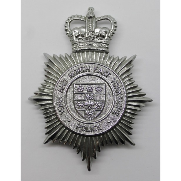 Badge of York and North East Yorks Police 1968-1974, who investigated the unidentified body found at Staithes from Divisional Headquarters in Guisborough. Did you work for the force then?